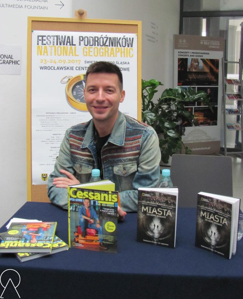 Michał Cessanis - Festiwal Podróżników National Geographic