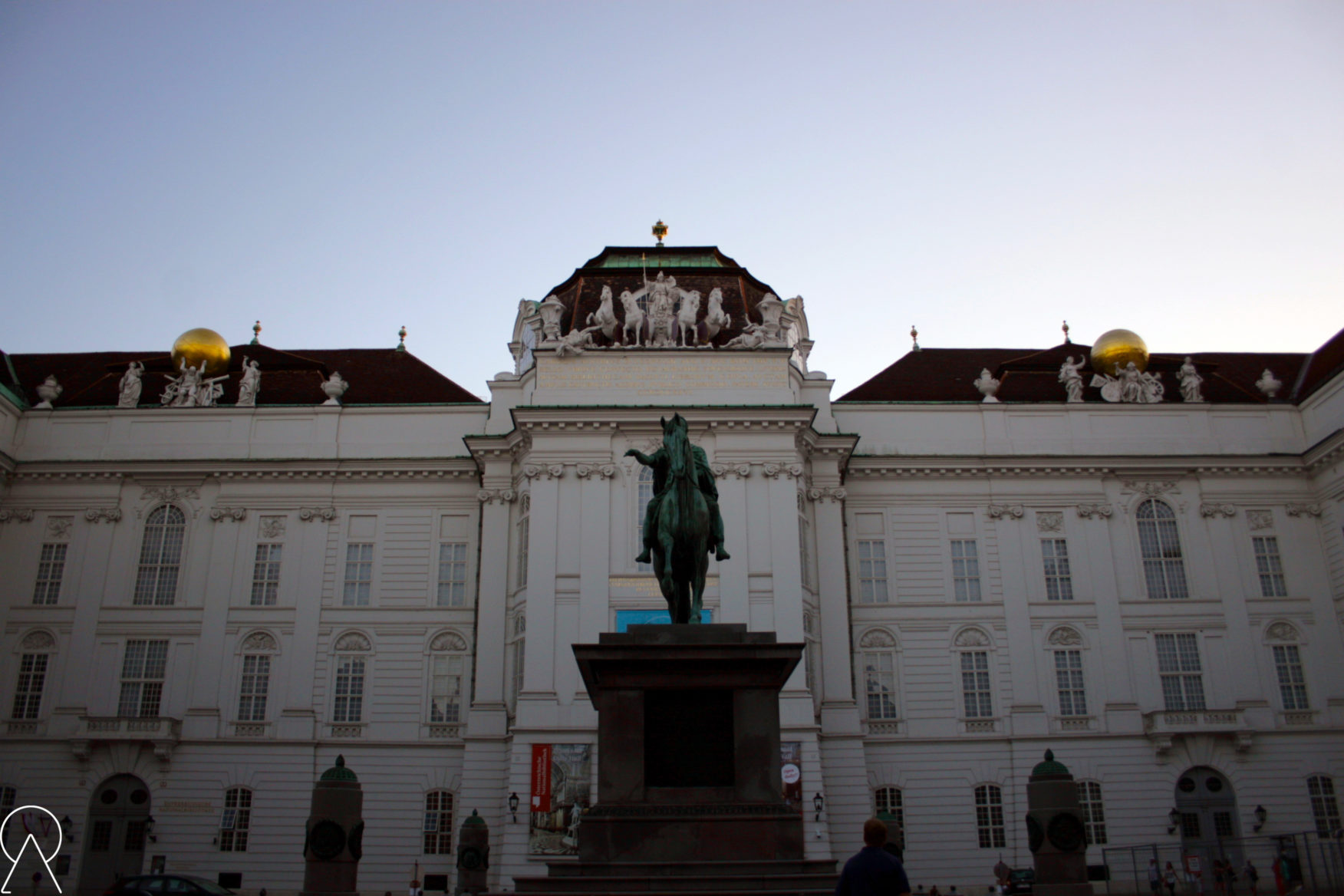 Wiedeń - Pałac Hofburg