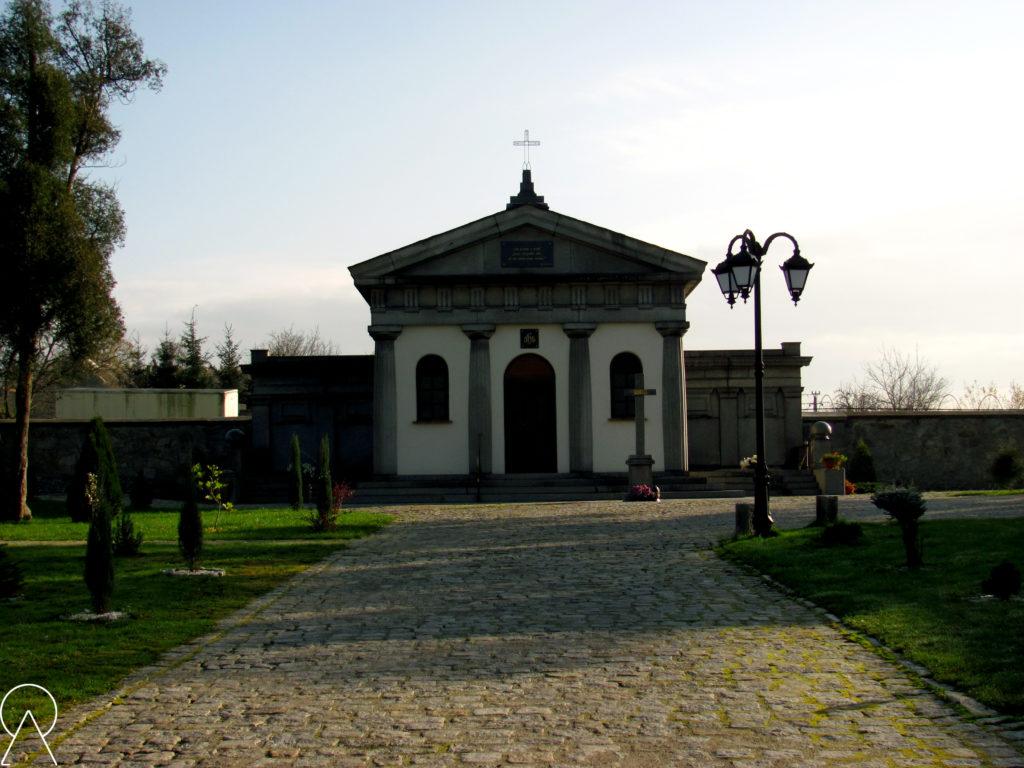 Mrowiny - Mauzoleum rodu von Kulmitz.