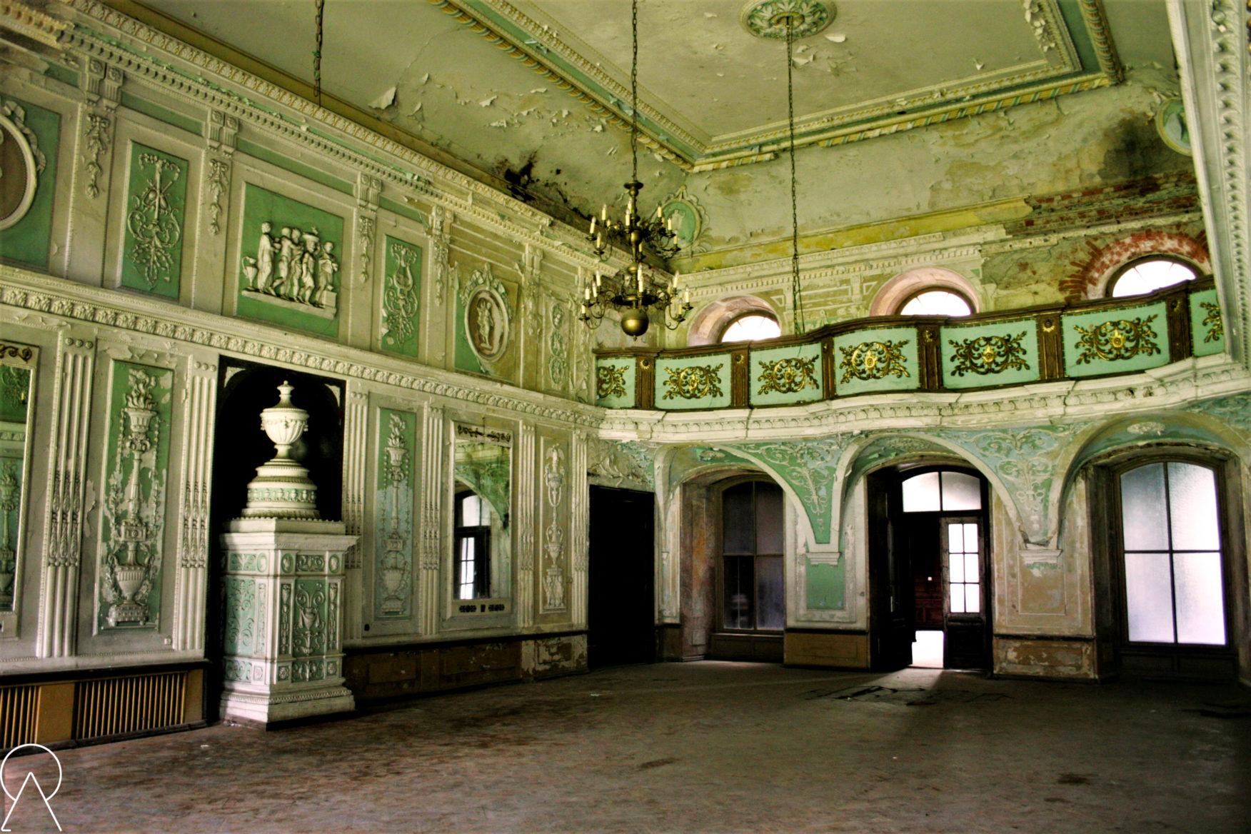Sala balowa - Pałac Bożków