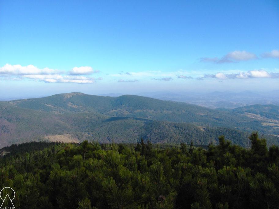 Widoki zeszlaku - Babia Góra