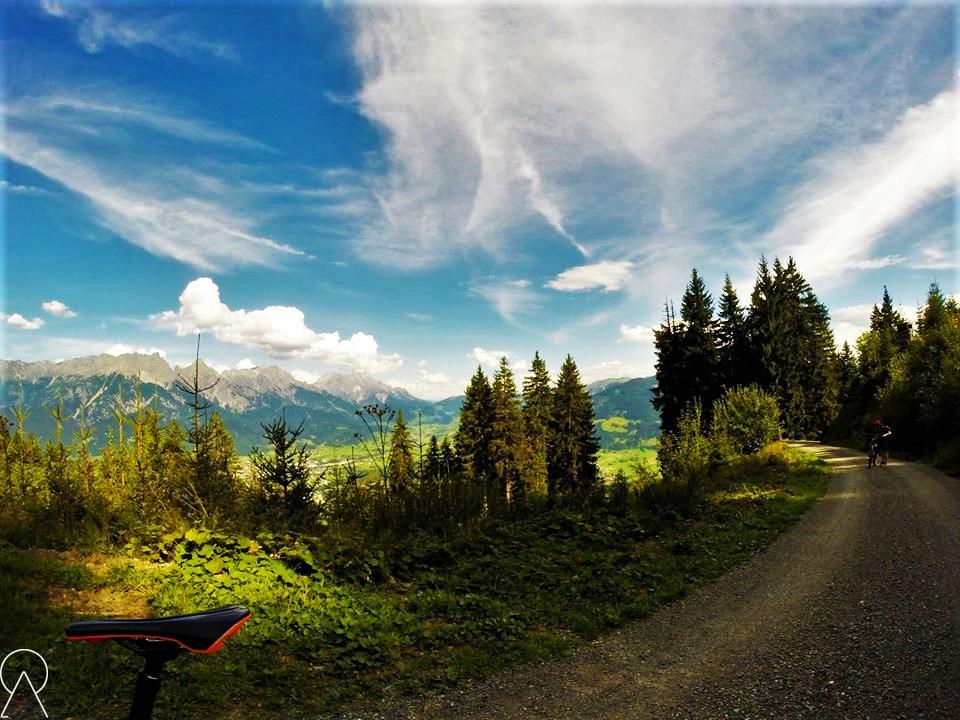 Leogang, trasy rowerowe ipiesze