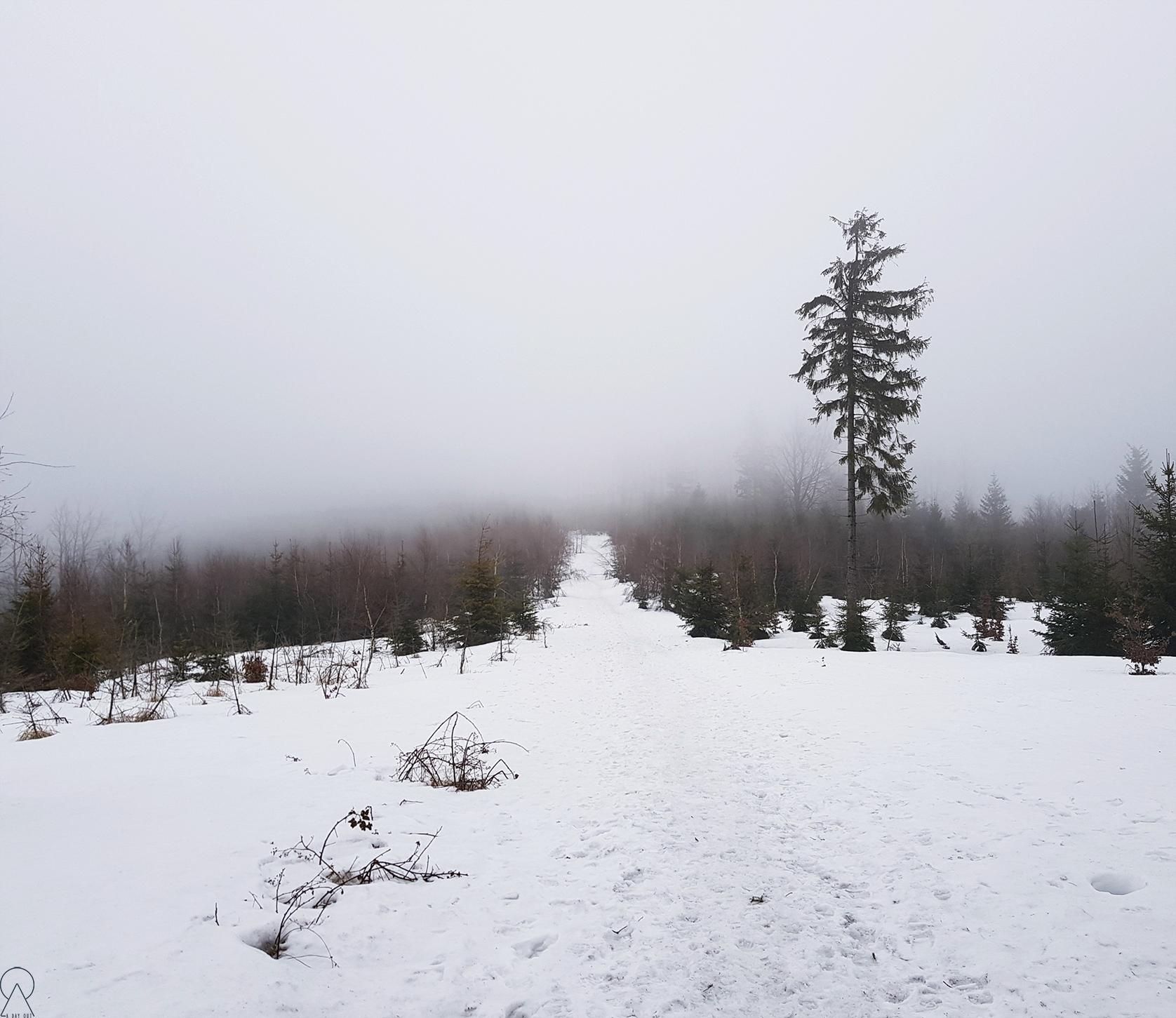 Czupel - wdzierająca się mgła